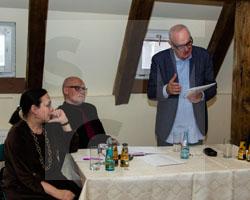 Literaturtage 2016 - Lesung mit Jacek Cygan, Fot. Axel Lange