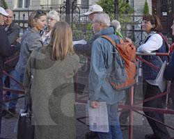 Gruppe aus Görlitz in Glatz auf den Spuren von Andreas Ernst am 21.09.2019, Fot. Andrzej Paczos (1)