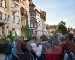 Gruppe aus Görlitz in Glatz auf den Spuren von Andreas Ernst am 21.09.2019, Fot. Andrzej Paczos (3)