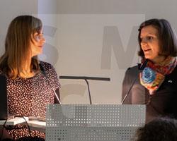 Vortrag von Joanna Jakubowicz über Andreas Ernst im Schlesischen Museum am 11.10.2019, Fot. Axel Lange